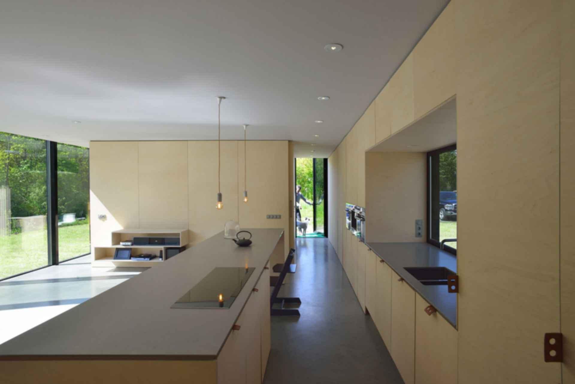 Mirror House Almere - Kitchen