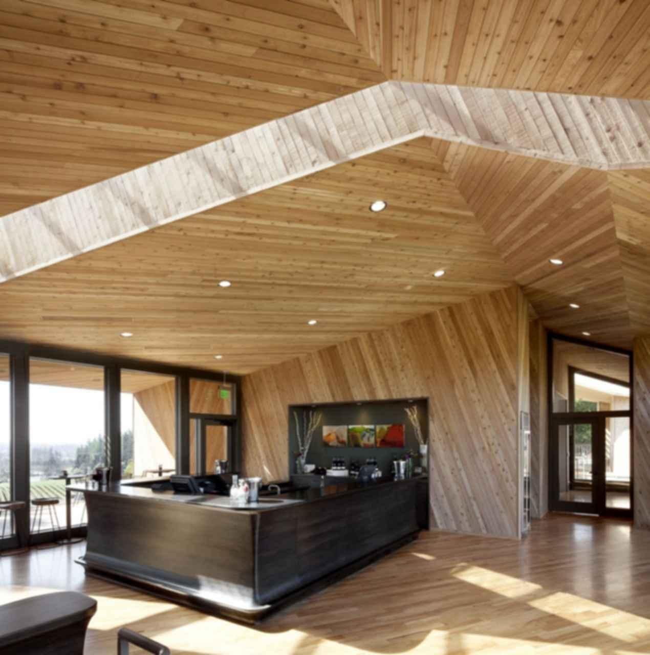 Tasting Room at Sokol Blosser Winery - Interior