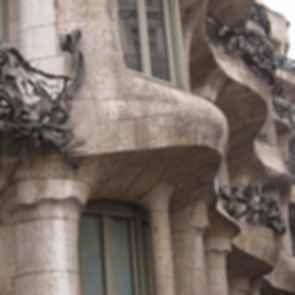 La Pedrera ( Casa Mila ) - Exterior Details