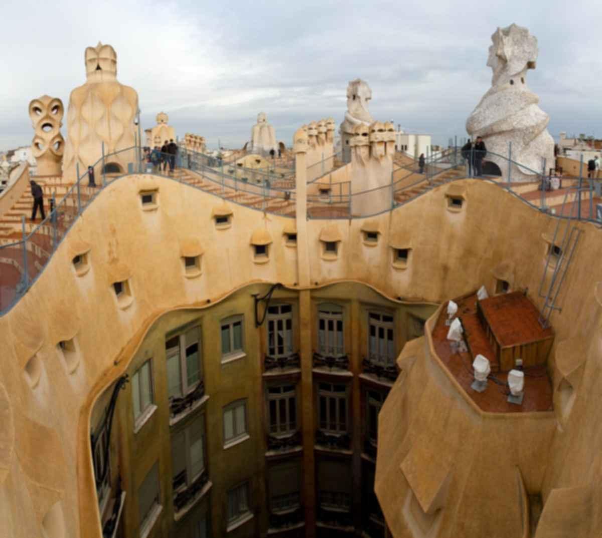 La Pedrera ( Casa Mila ) - Exterior/Rooftop