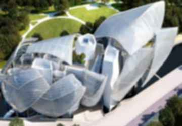 Fondation Louis Vuitton - Exterior/Bird's Eye View