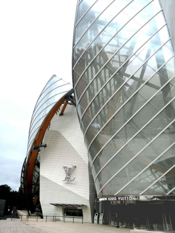 Fondation Louis Vuitton Exterior Entrance Modlar Com