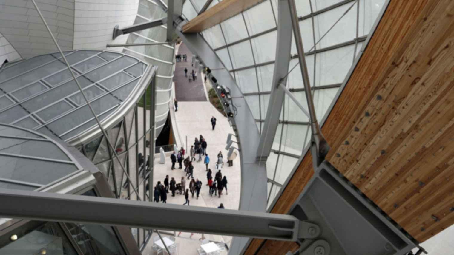 Fondation Louis Vuitton - Exterior