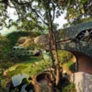 Nido de Quetzalcoatl - Exterior