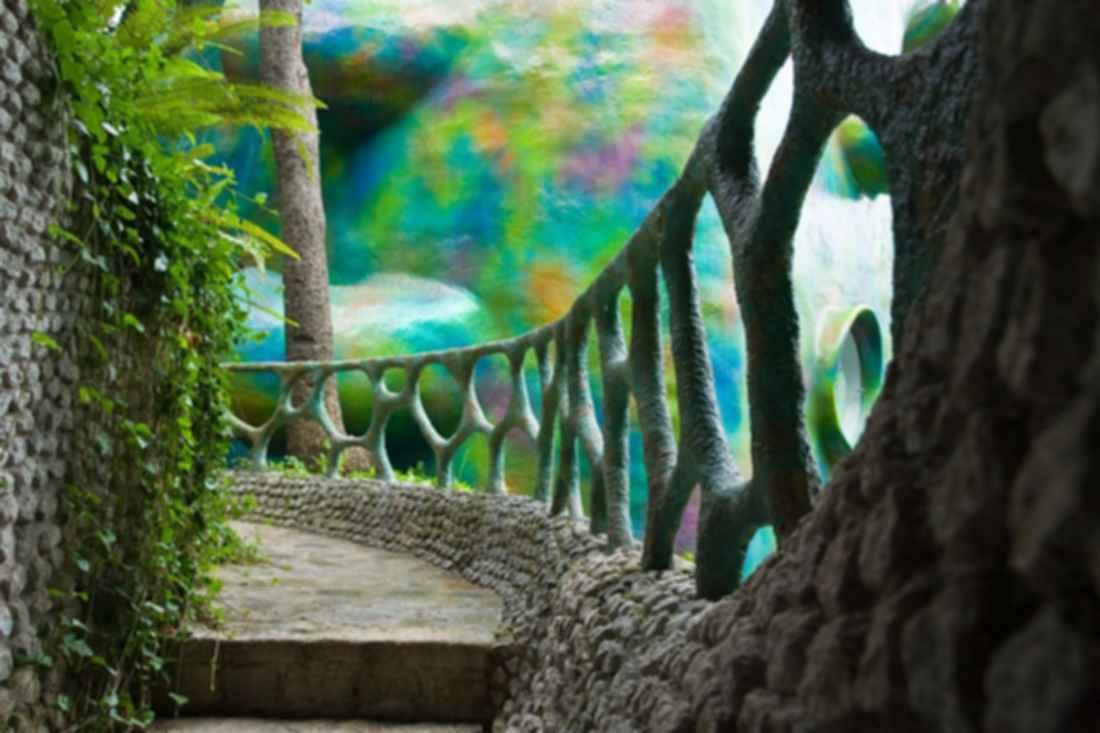 Nido de Quetzalcoatl - Exterior/Pathway
