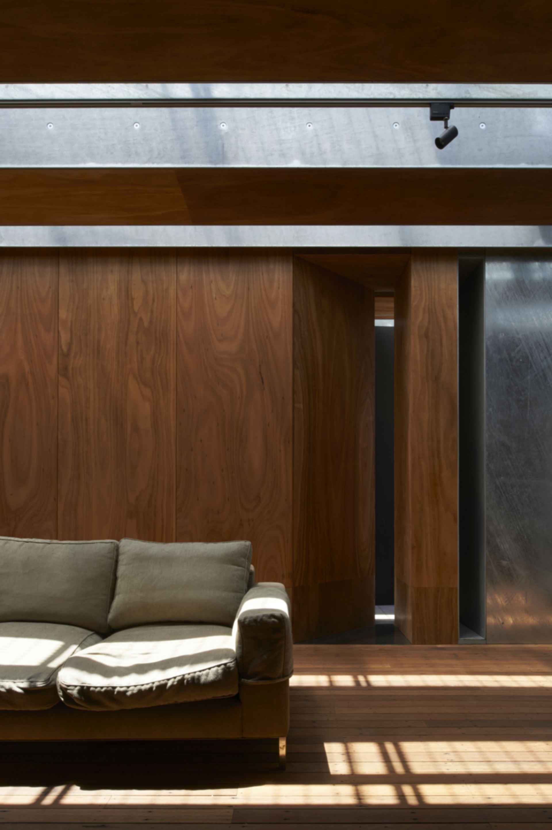 The Edward Street House - Wood Detail