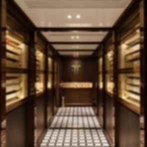 A Hidden Speakeasy - Interior