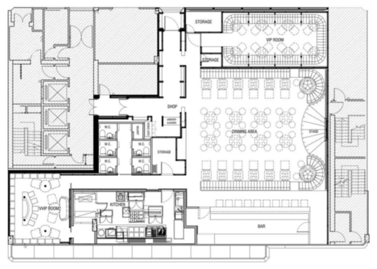 A Hidden Speakeasy - Floor Plan