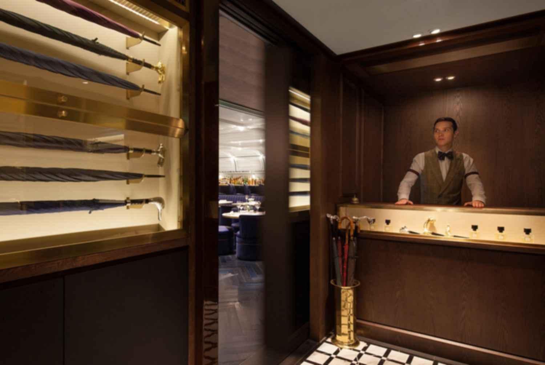 A Hidden Speakeasy - Entrance to Secret Restaurant