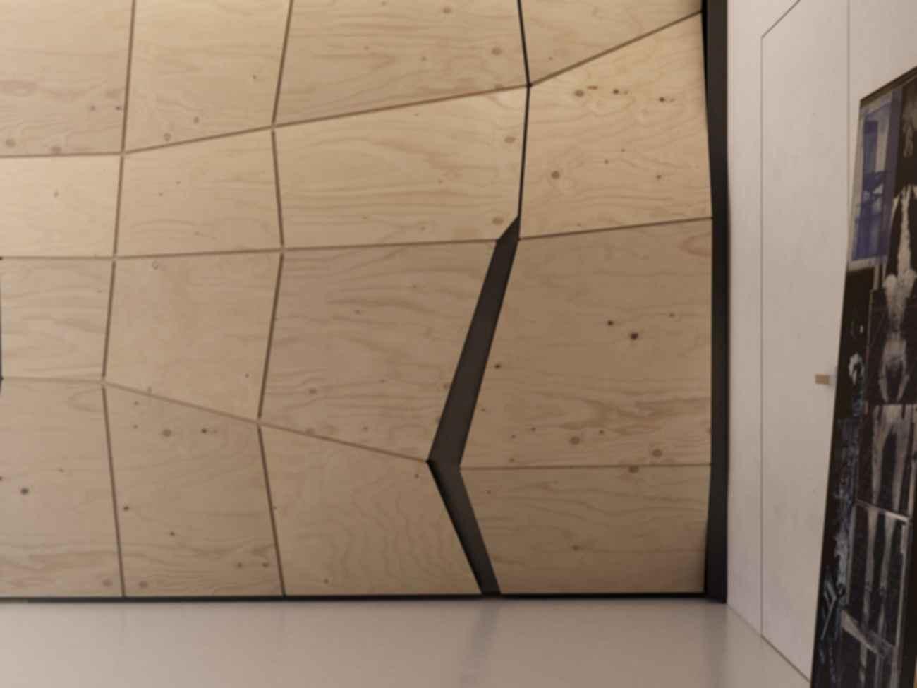 Hidden Room - Wood Wall