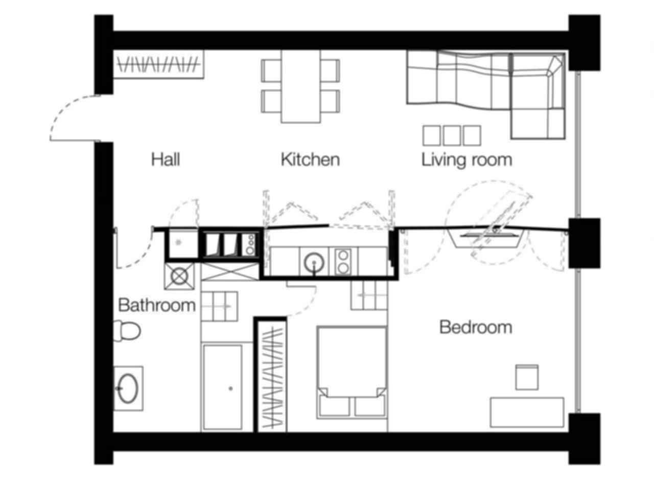 Hidden Room - Floor Plan