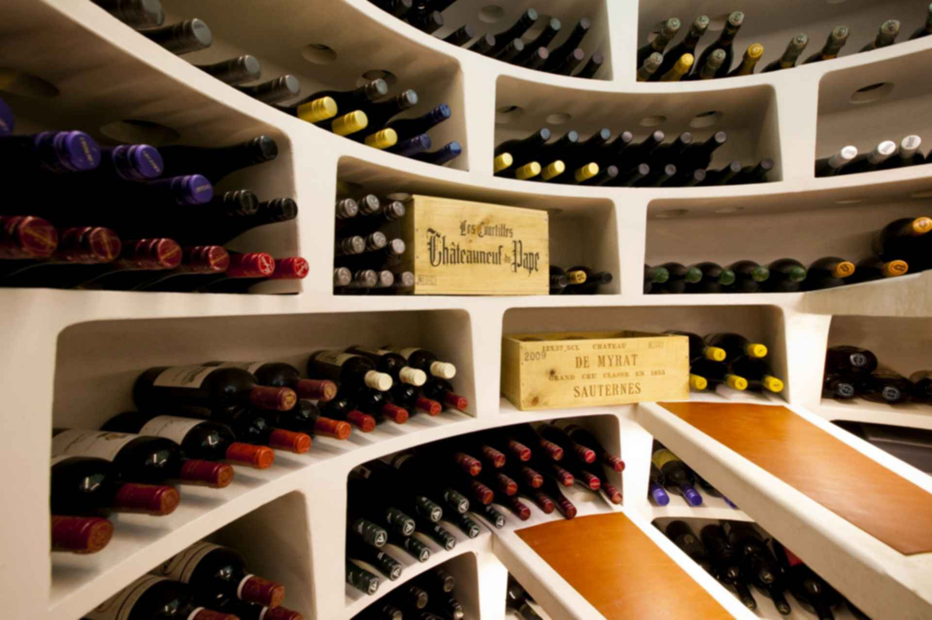 Secret Wine Cellars - Inside a Secret Cellar