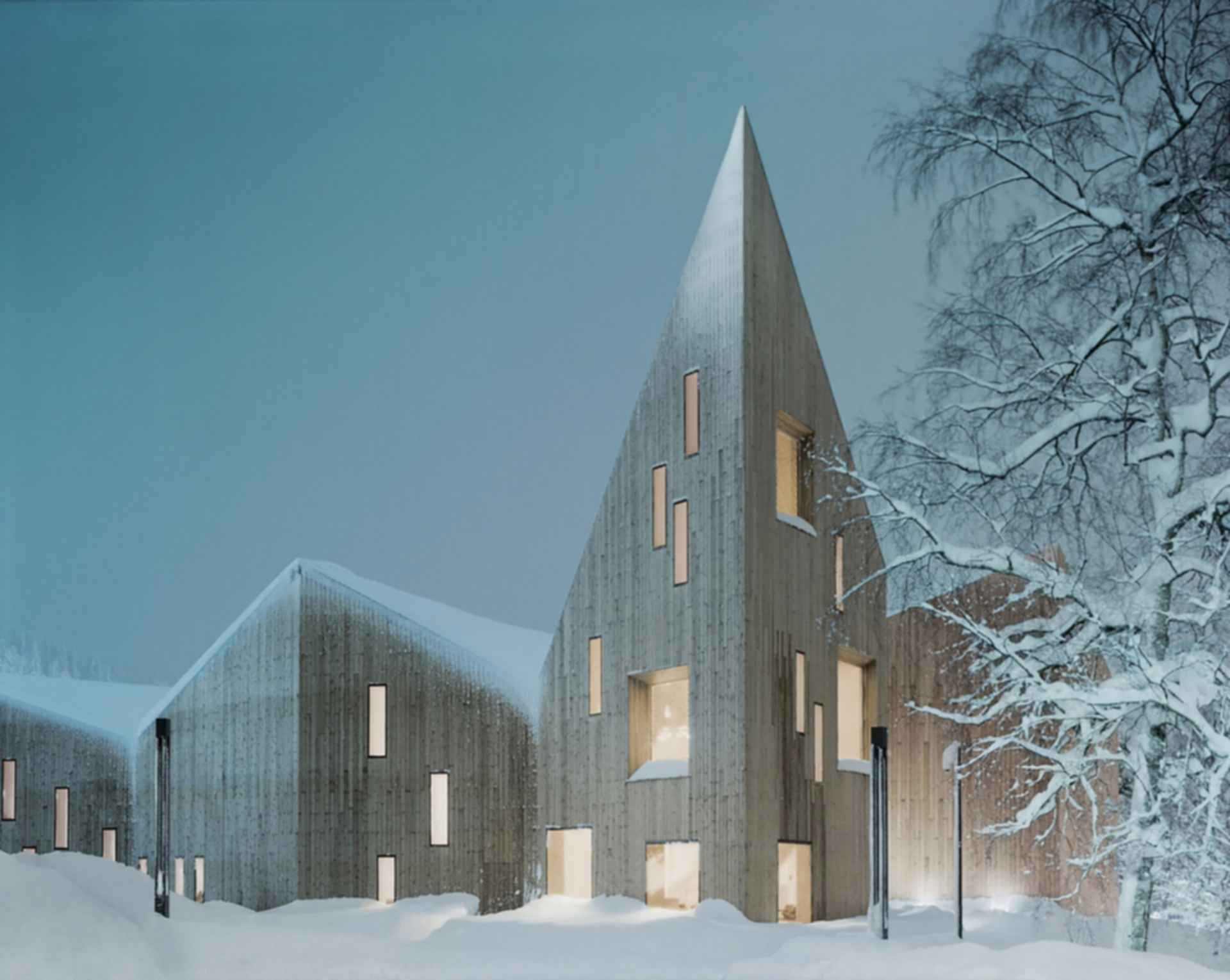 Romsdal Folk Museum - Concept Design/Exterior