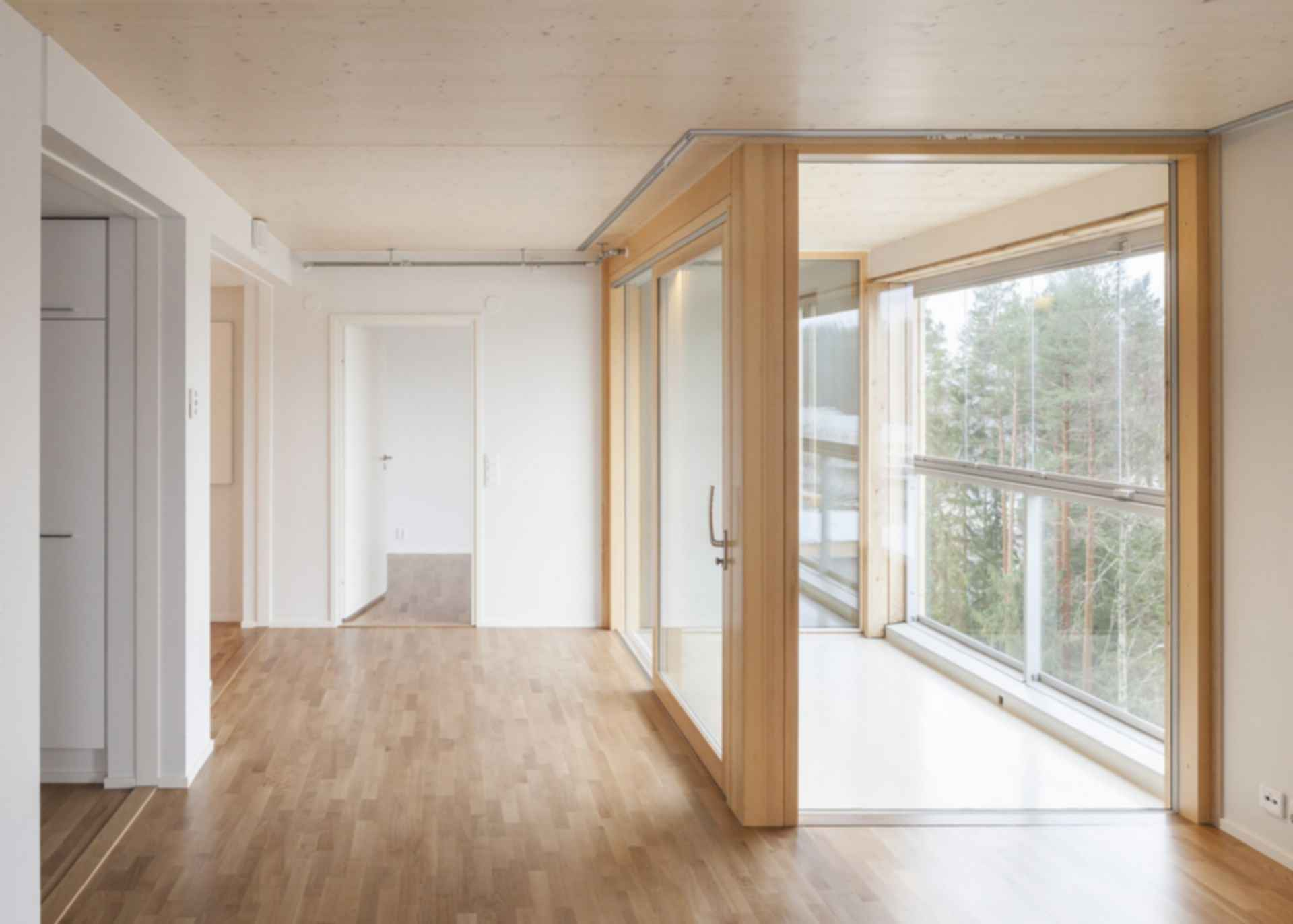 Puukuokka Housing Block - Interior