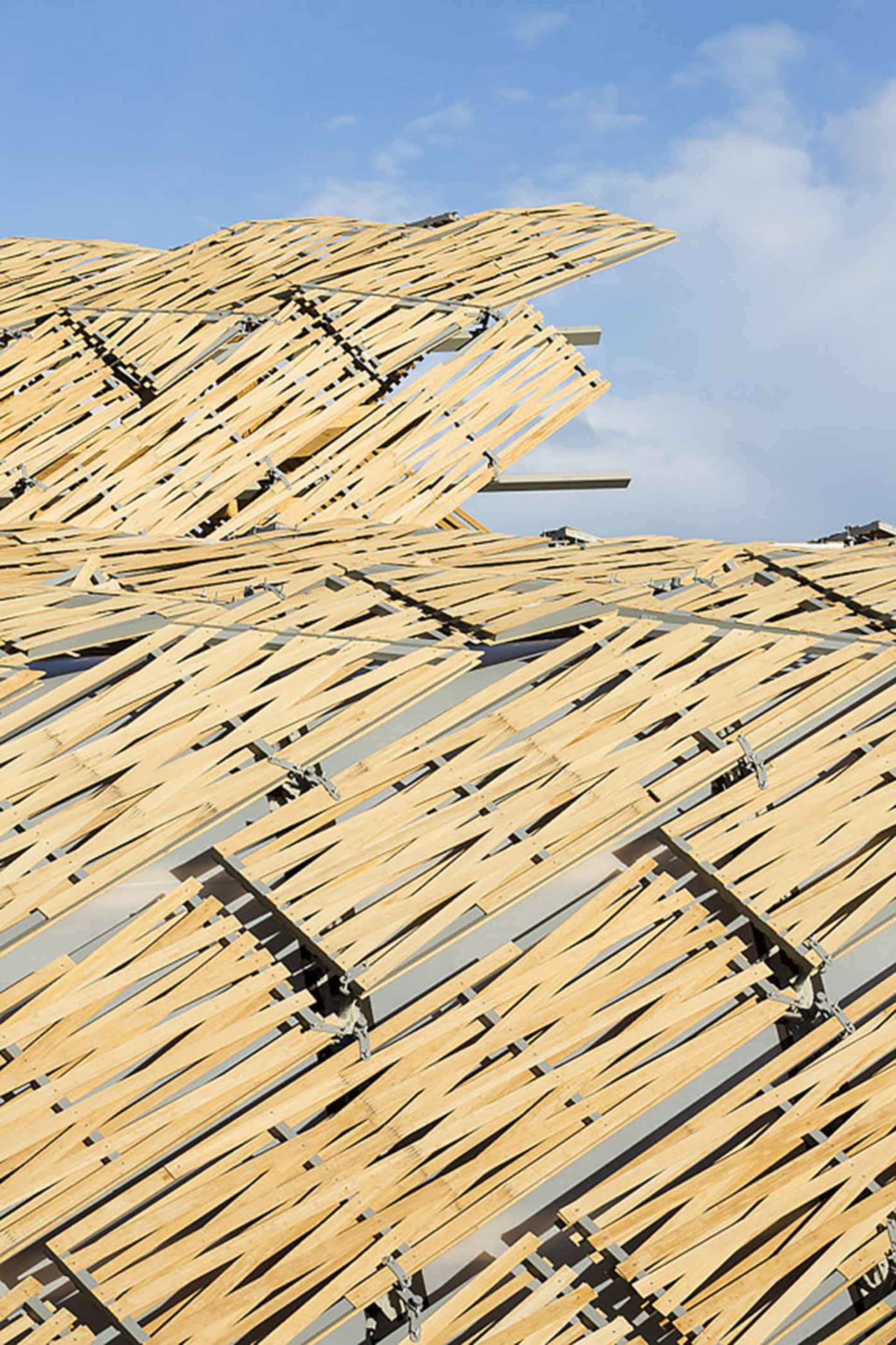 China Pavilion at Milan Expo 2015 - Roofing