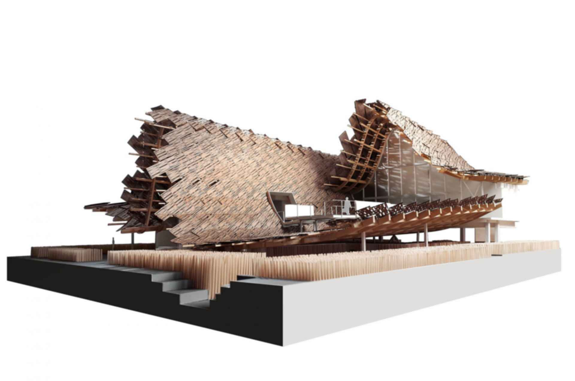 China Pavilion at Milan Expo 2015 - Concept Design