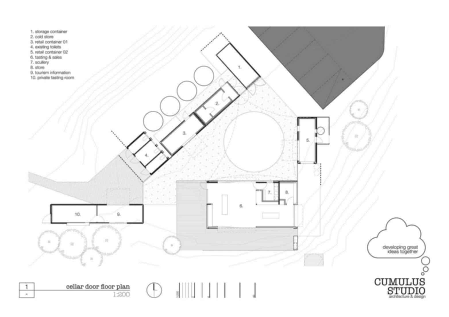 Devil's Corner - Floor Plan