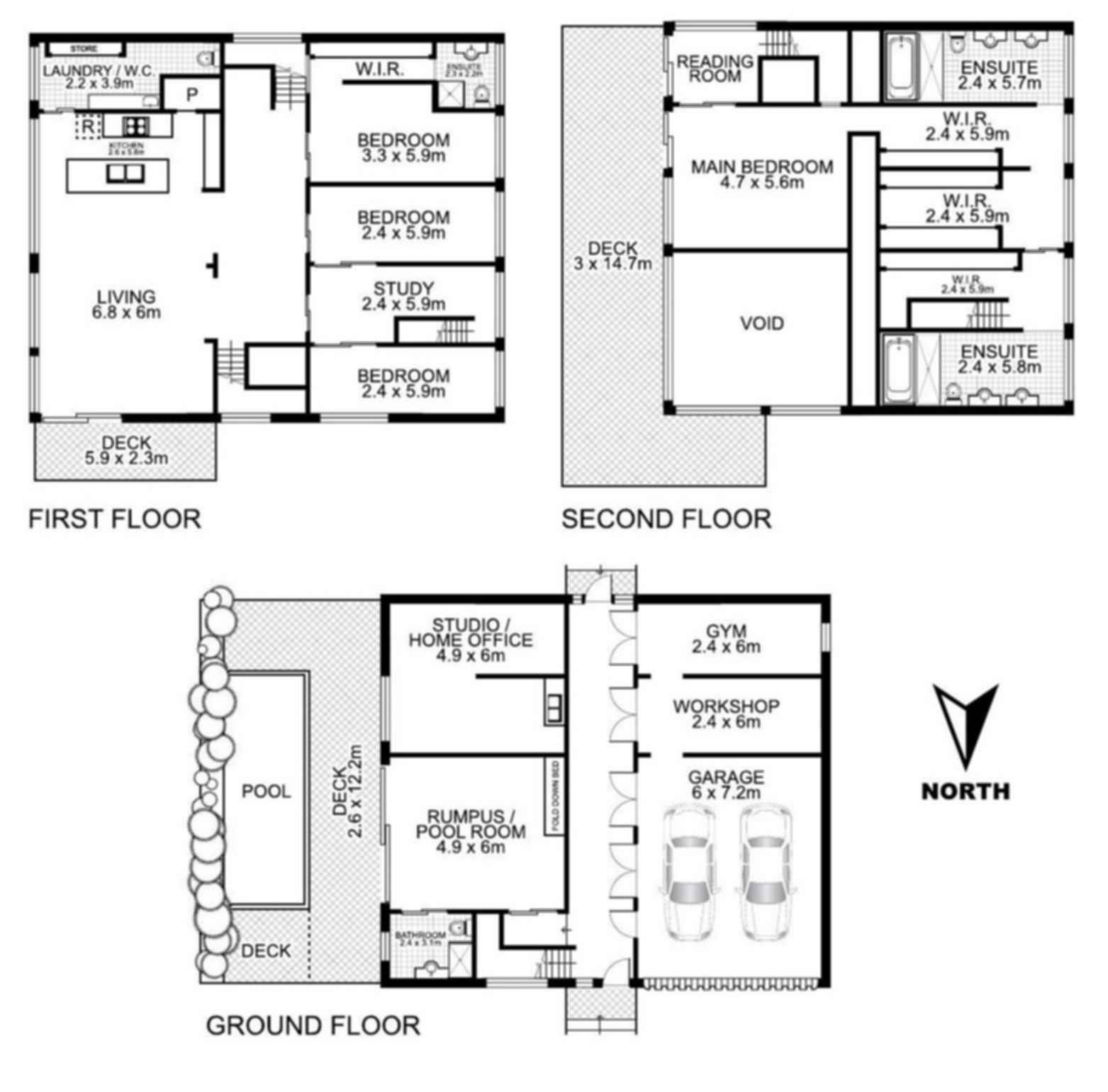 31 Shipping Container Home - Floor Plan