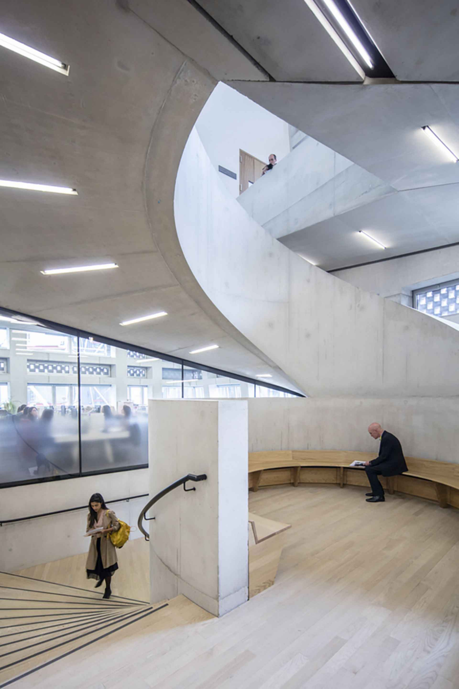 Tate Modern/Switch House extension - Interior