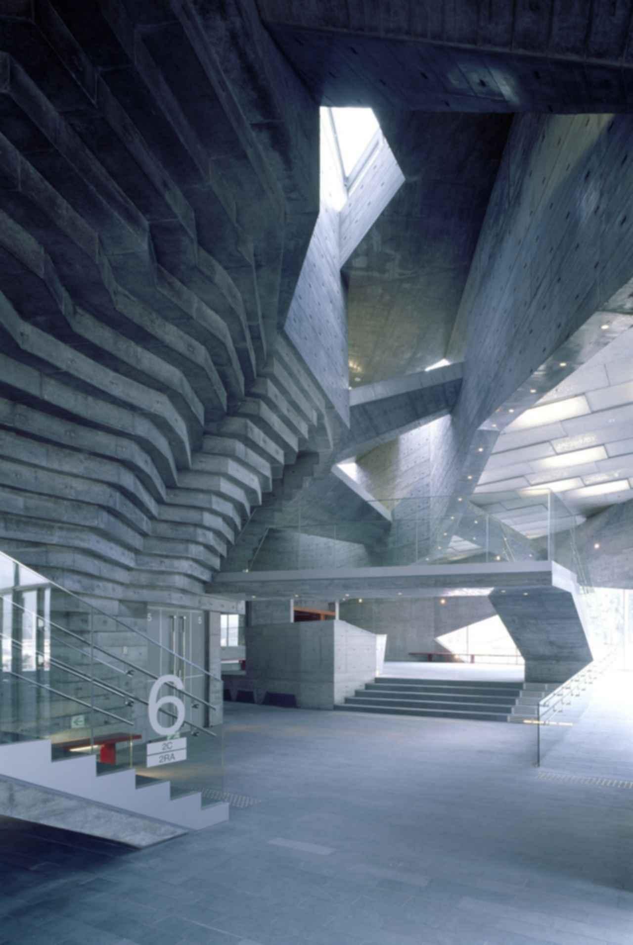Ofunato Civic Center and Library - Interior