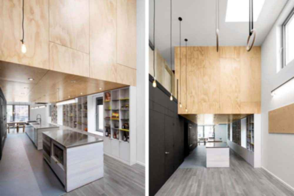 A Home for Gymnasts - Interior/Kitchen