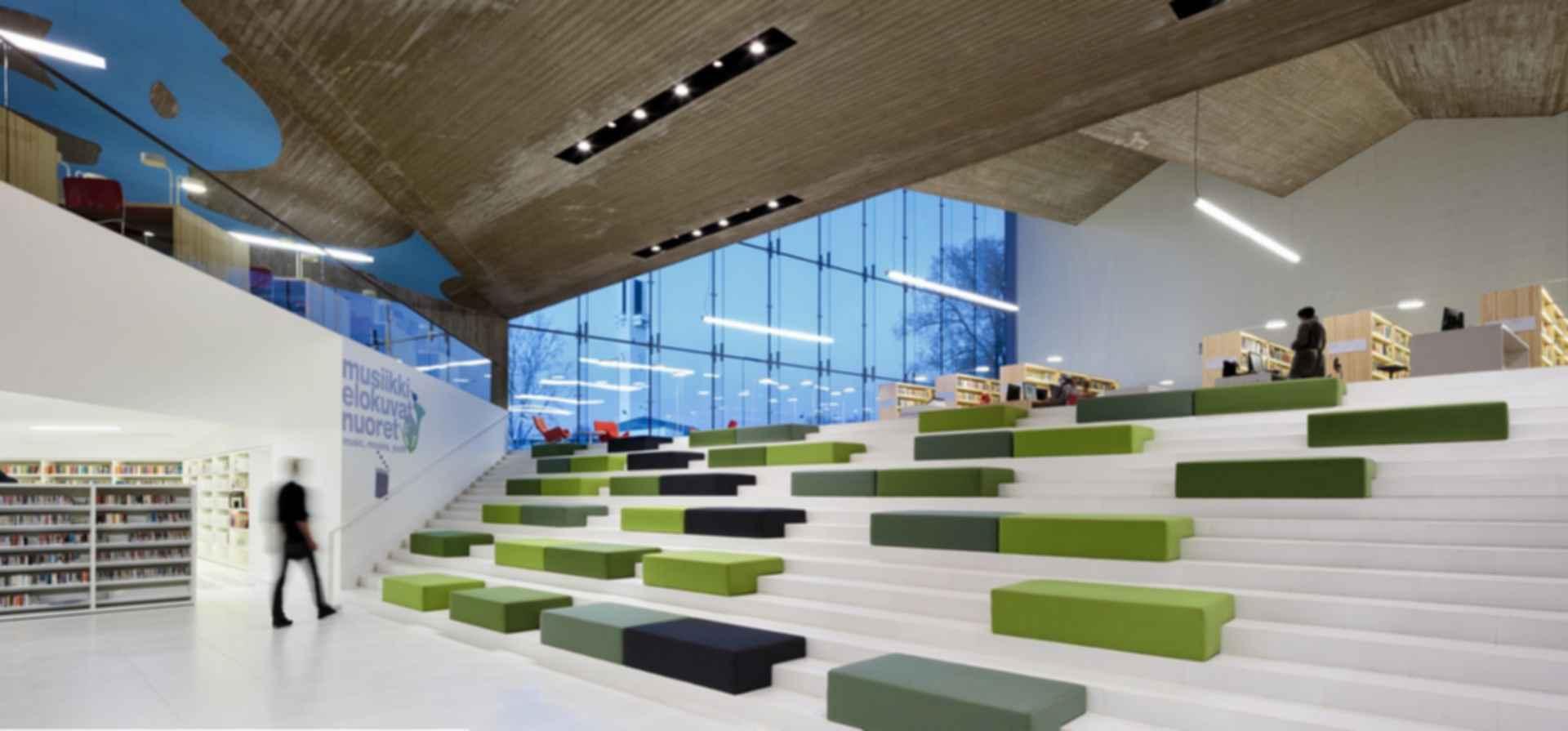 Seinajoki City Library - Interior Concept