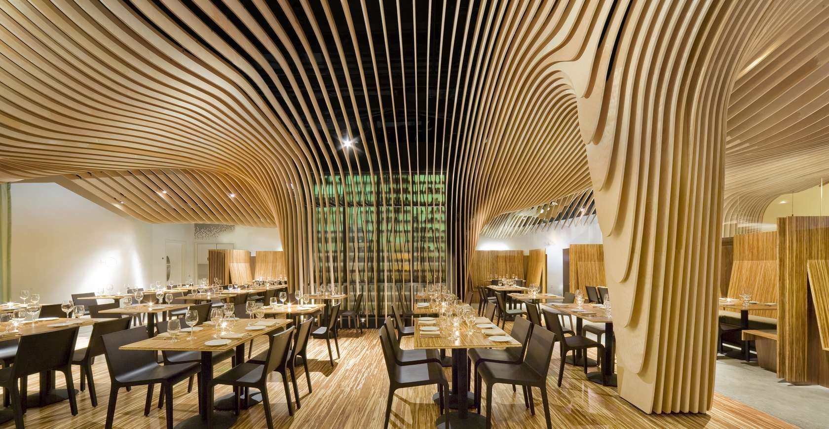 Banq restaurant dining area