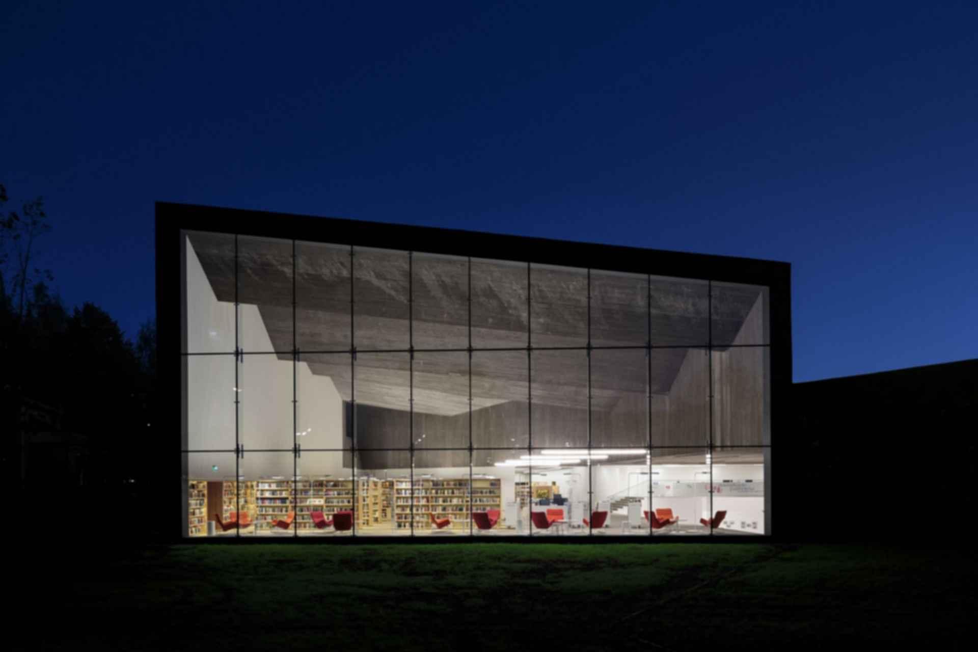 Seinajoki City Library - Exterior