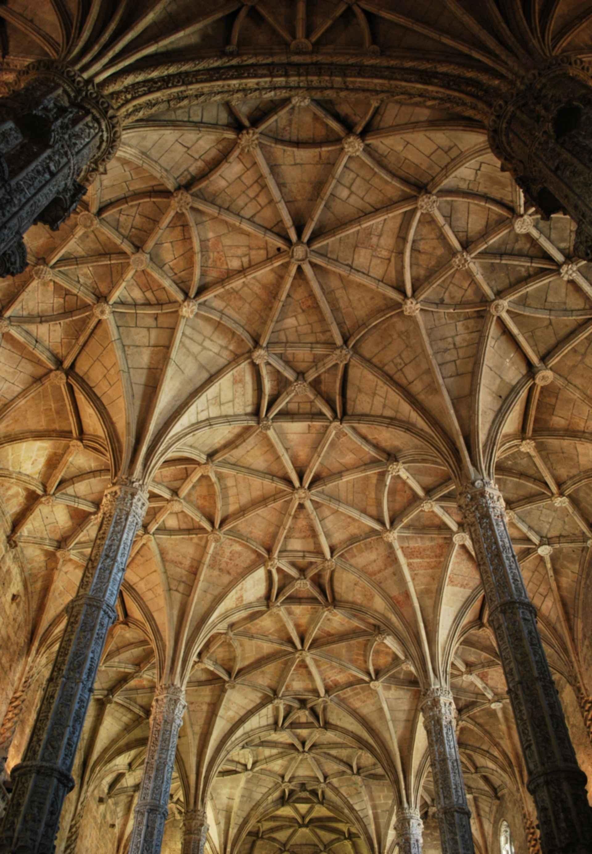 Jeronimos Monastery - Ceiling