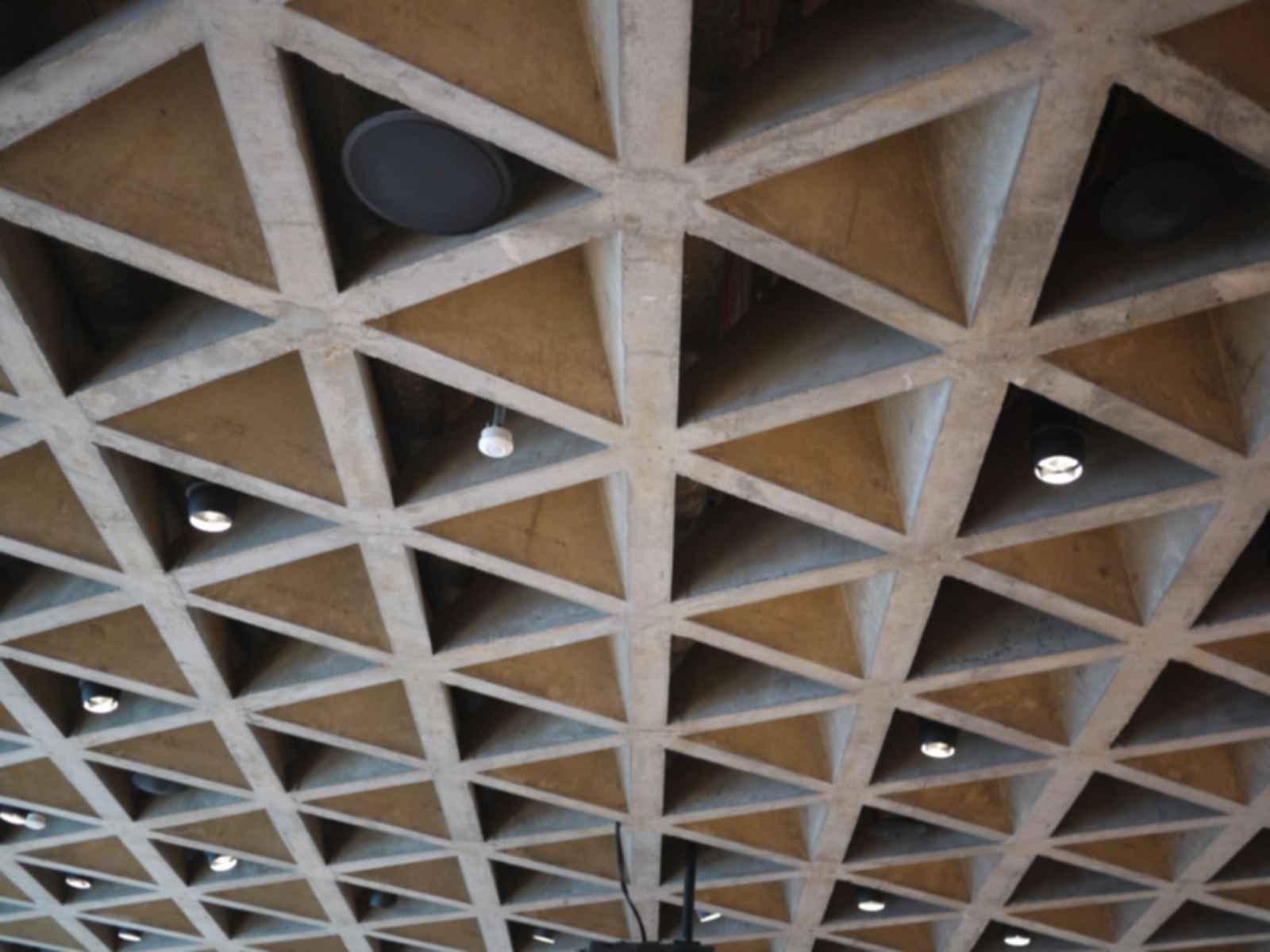 Yale University Art Gallery - Ceiling