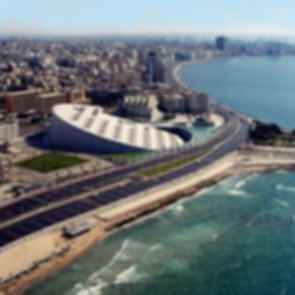 Bibliotheca Alexandrina - Exterior