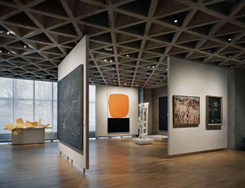 Yale University Art Gallery - Interior/Artwork