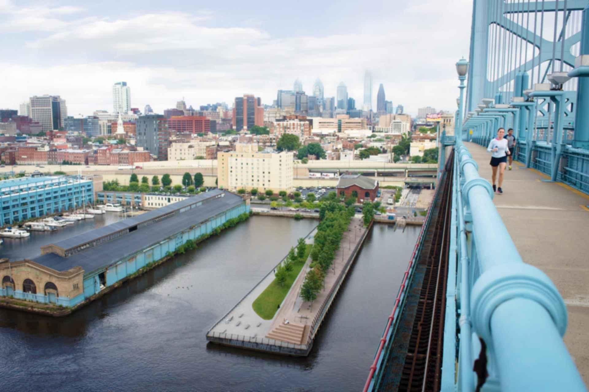 Race Street Pier - Overlooking Pier