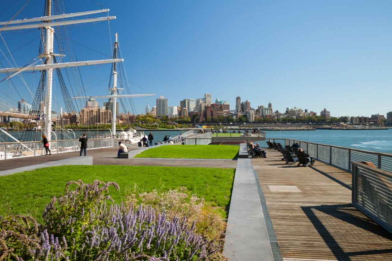 East River Waterfront Esplanade - On the Pier