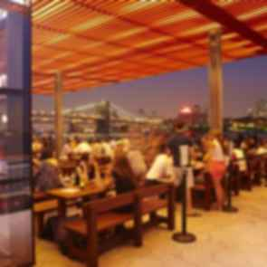 East River Waterfront Esplanade - On the Pier/Bar