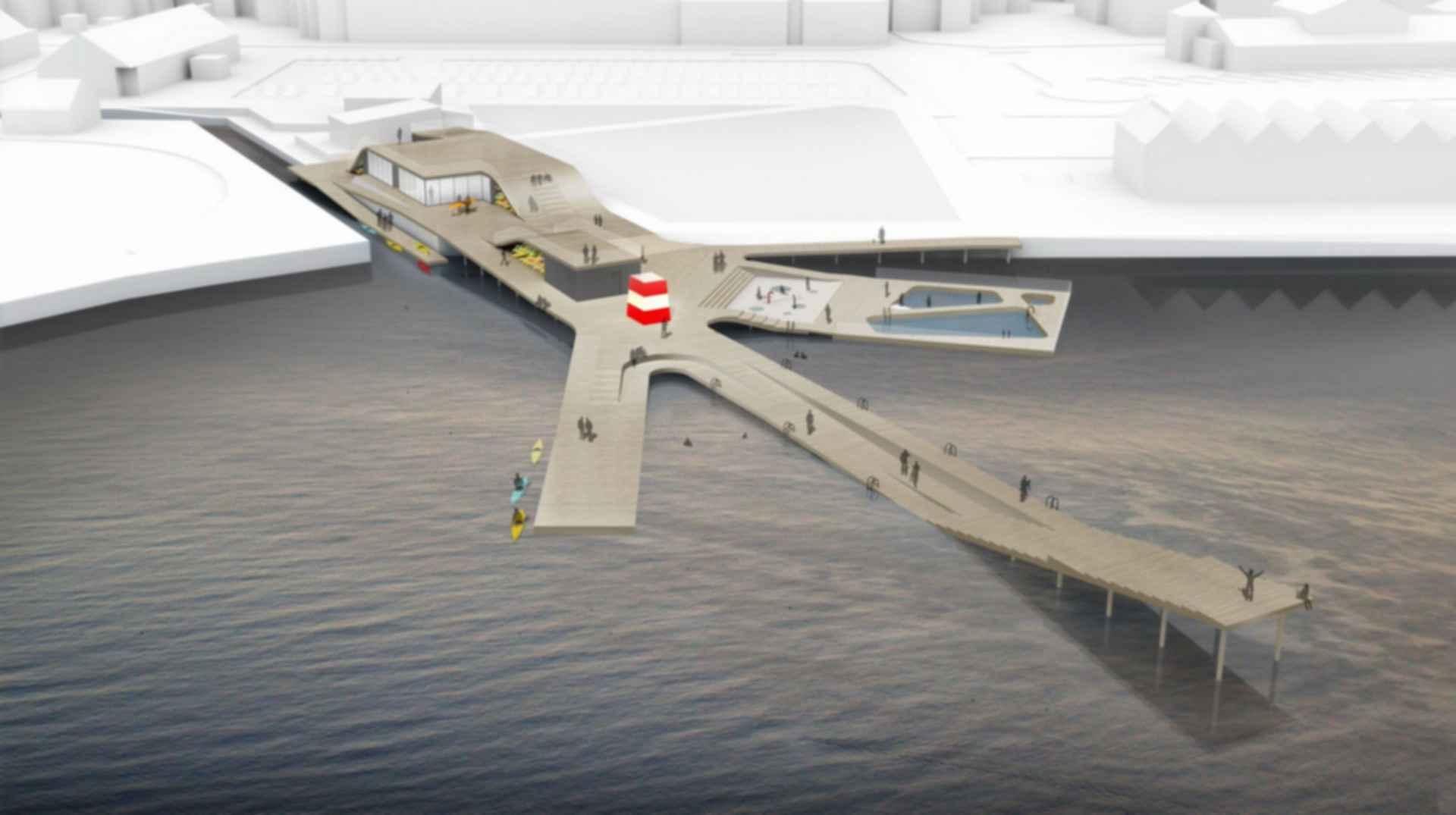 Faaborg Harbor Bath - Concept Design