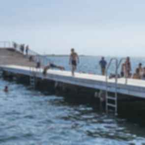 Faaborg Harbor Bath - Pier