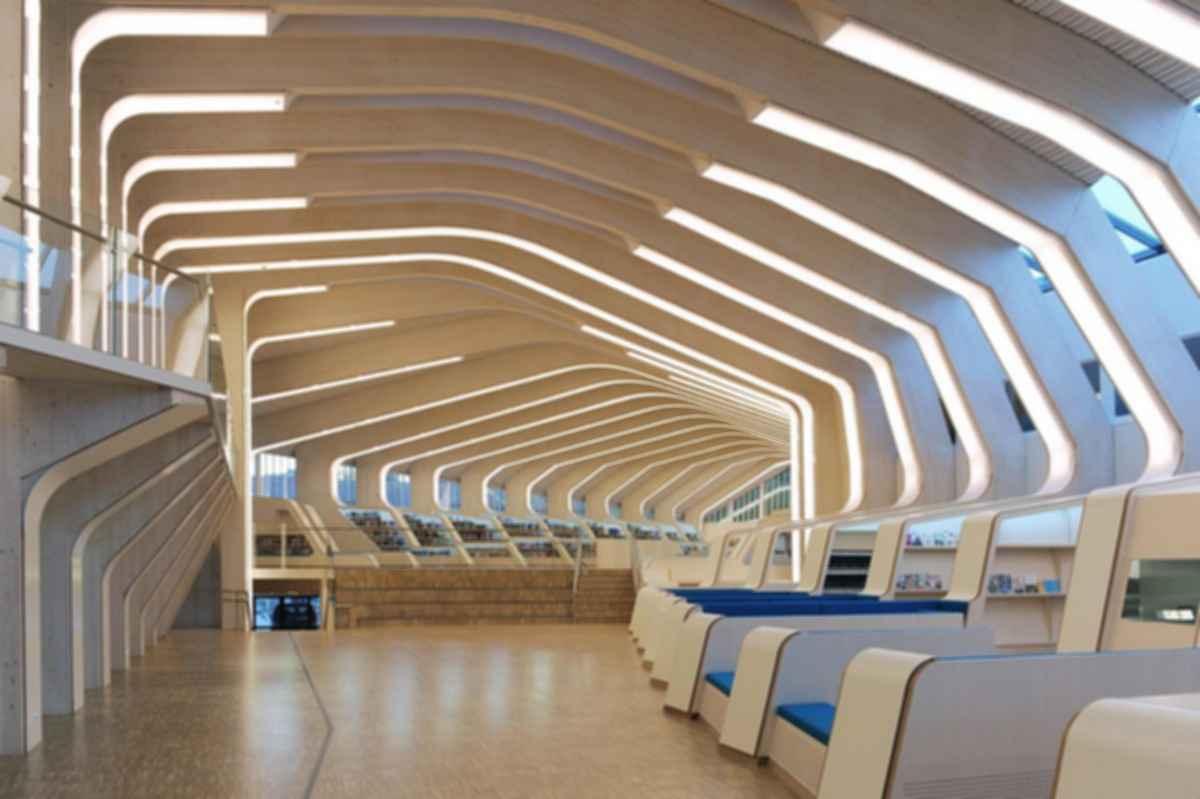Vennesla Library - Interior
