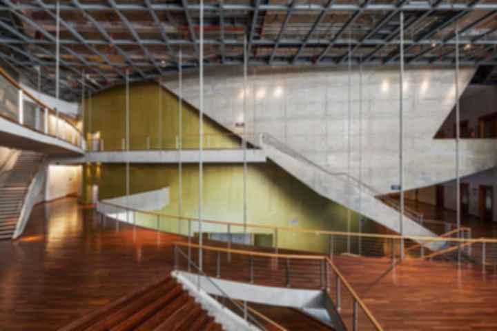 Cidade das Artes - Stairs