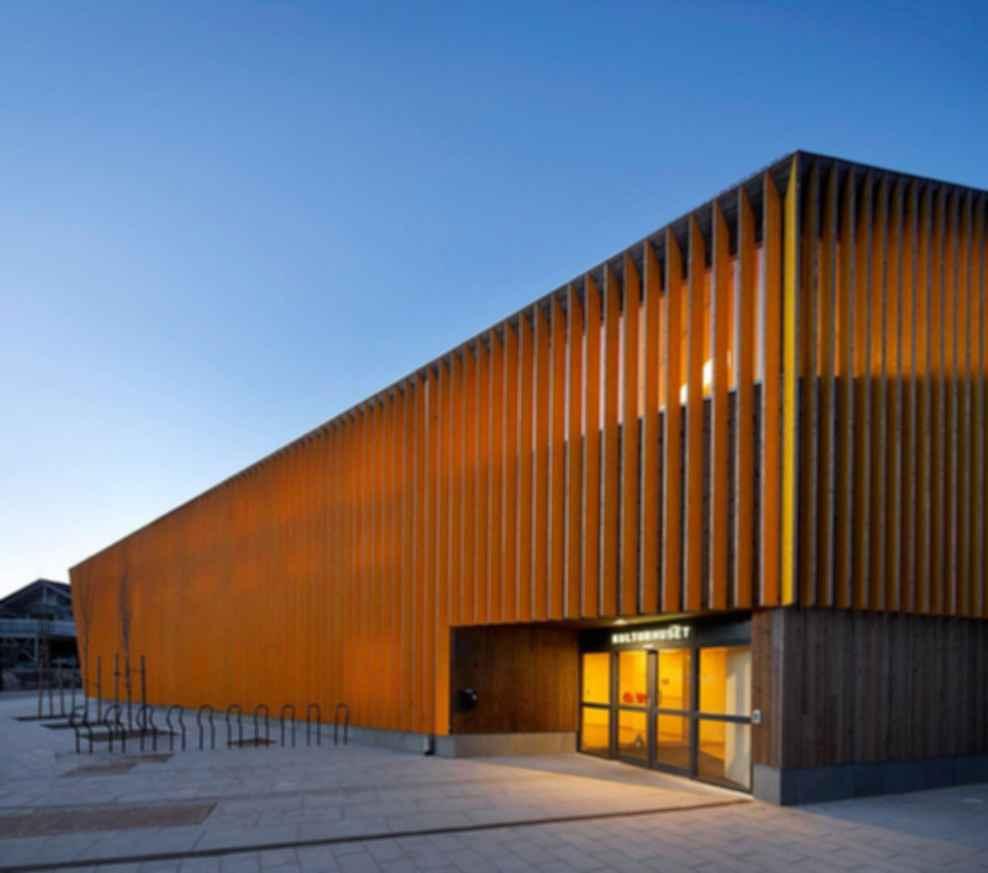 Vennesla Library - Exterior