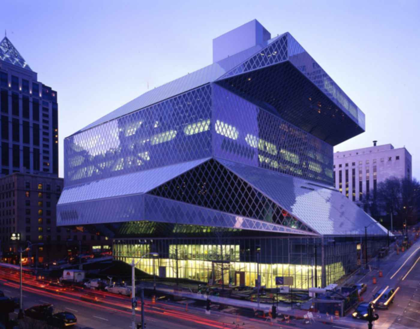 Seattle Central Library - Exterior