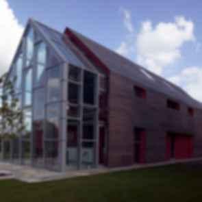 Sliding House - Exterior/landscaping