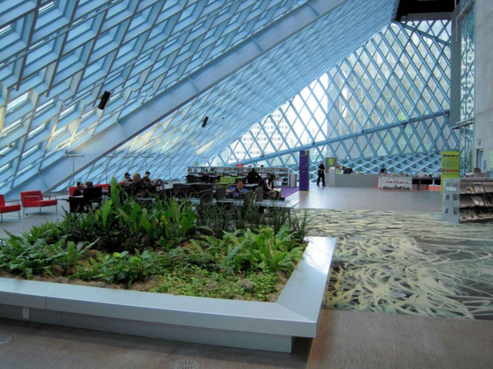 Seattle Central Library - Interior