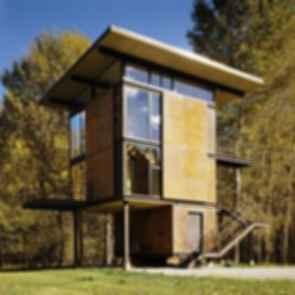 Delta Shelter - A transforming Cabin - Exterior
