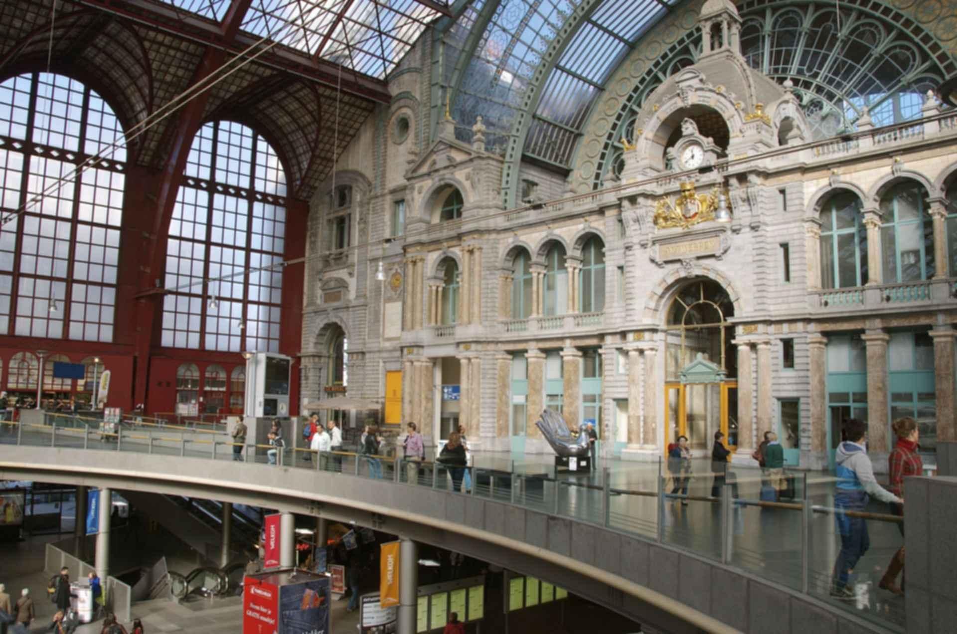 Antwerpen-Centraal Station - interior