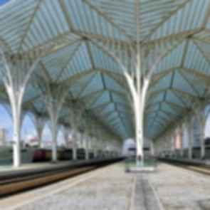 Oriente, Lisbon Train Station - Interior