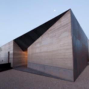 Desert Courtyard House - exterior/landscaping