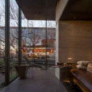 Desert Courtyard House - interior