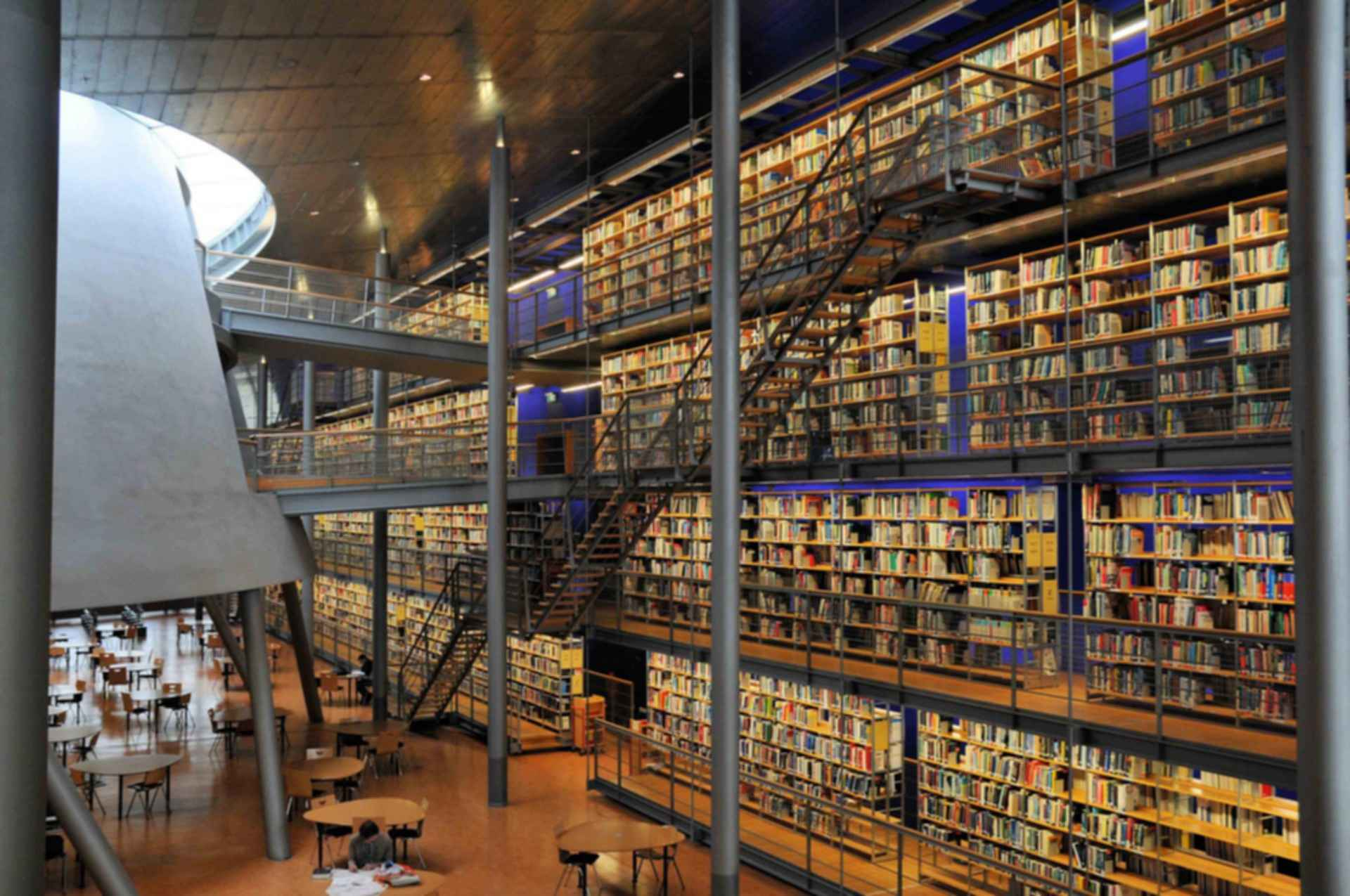 TU Delft Library - Interior