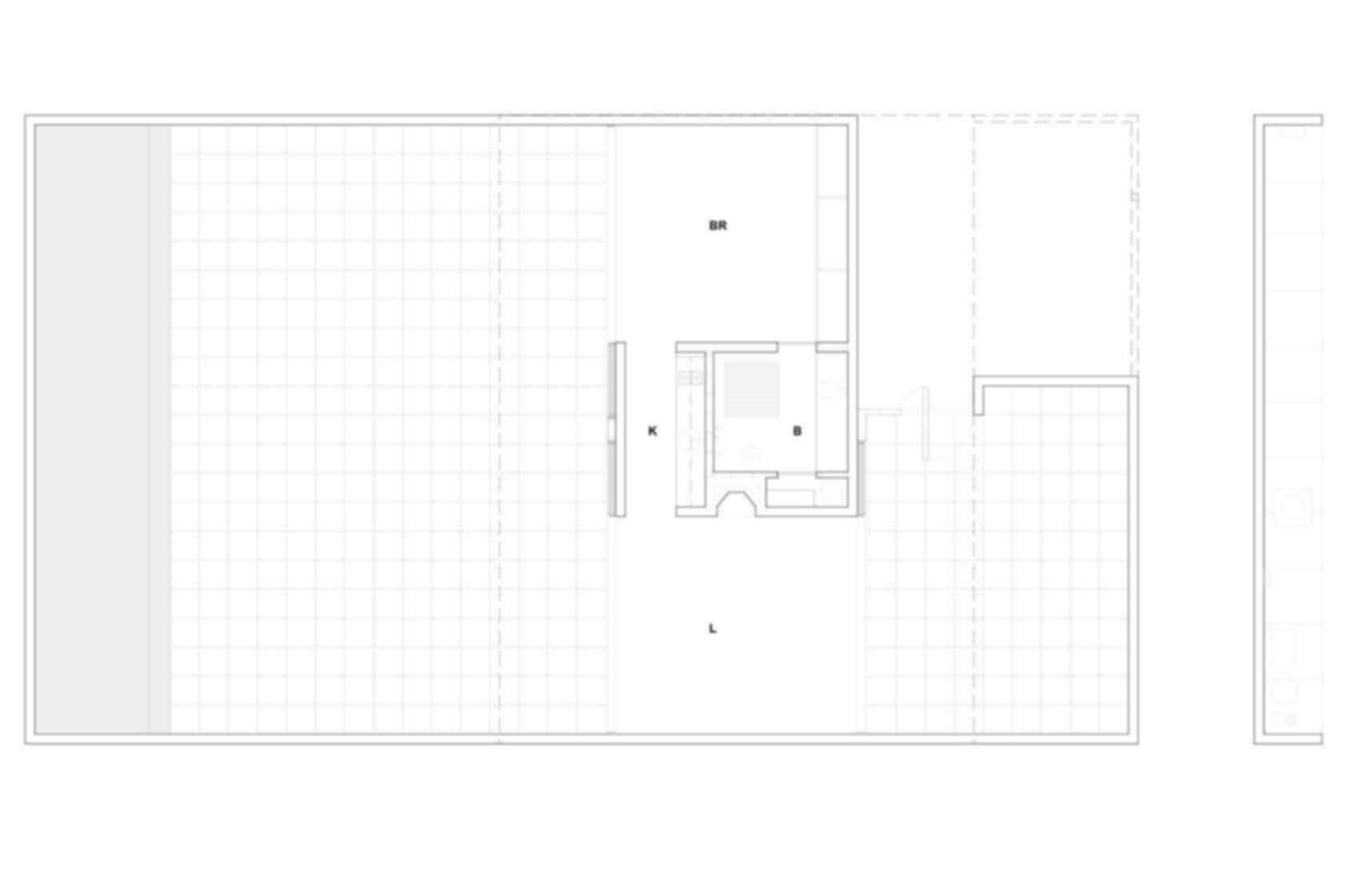 Desert House - floor plan
